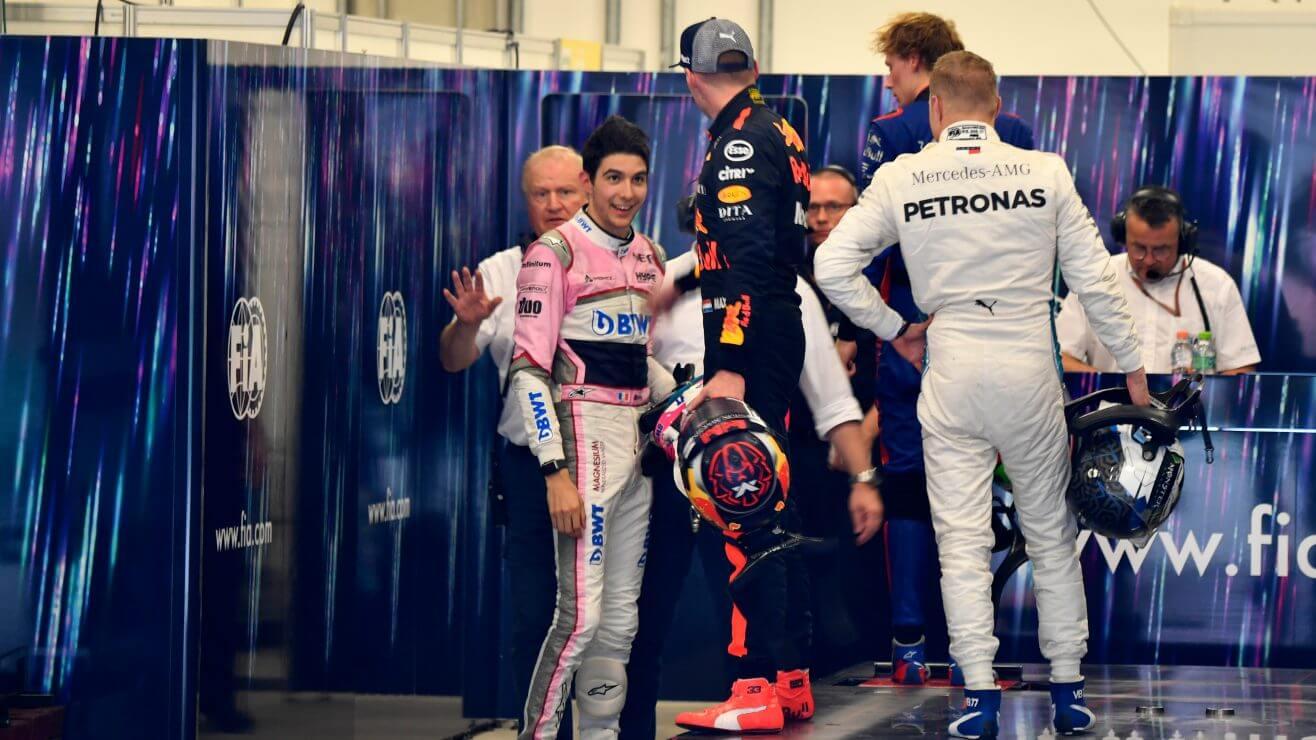Max Verstappen vs Esteban Ocon in Brazil