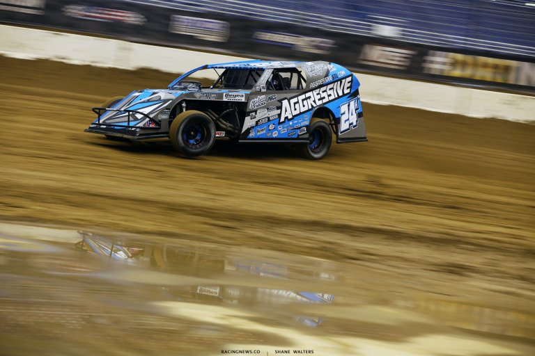Mike Harrison in the Gateway Dirt Nationals 2893