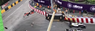 Sophia Floersch, Formula driver launched over the catch fence; Driver suffers spinal fracture (Video)