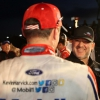 Tony Stewart and Kevin Harvick in victory lane