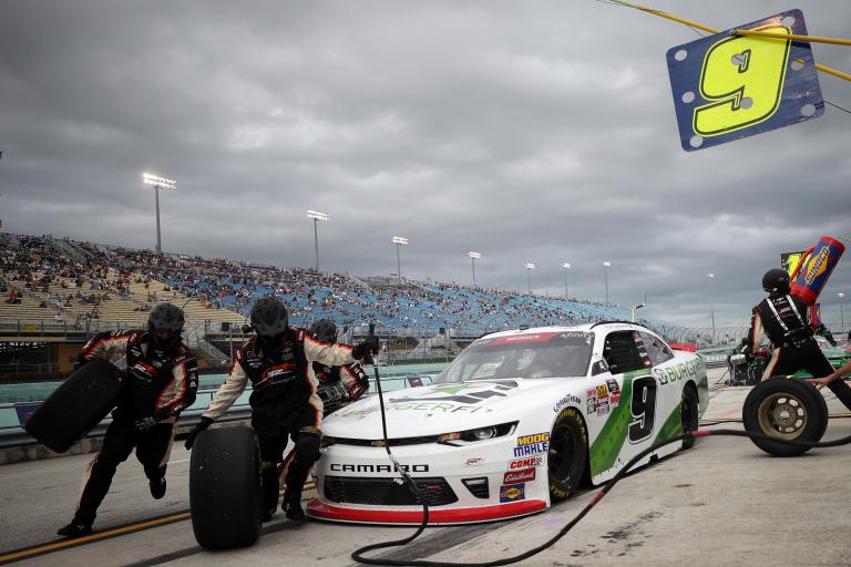 Tyler Reddick - NASCAR pit stop
