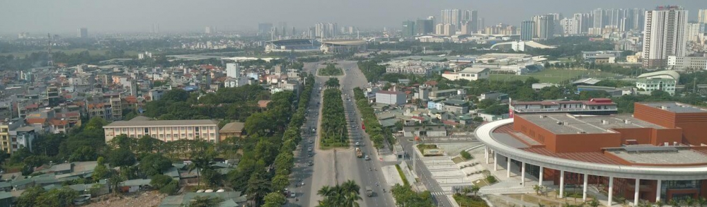 New F1 track in 2020: Vietnam Street Circuit (City of Hanoi)
