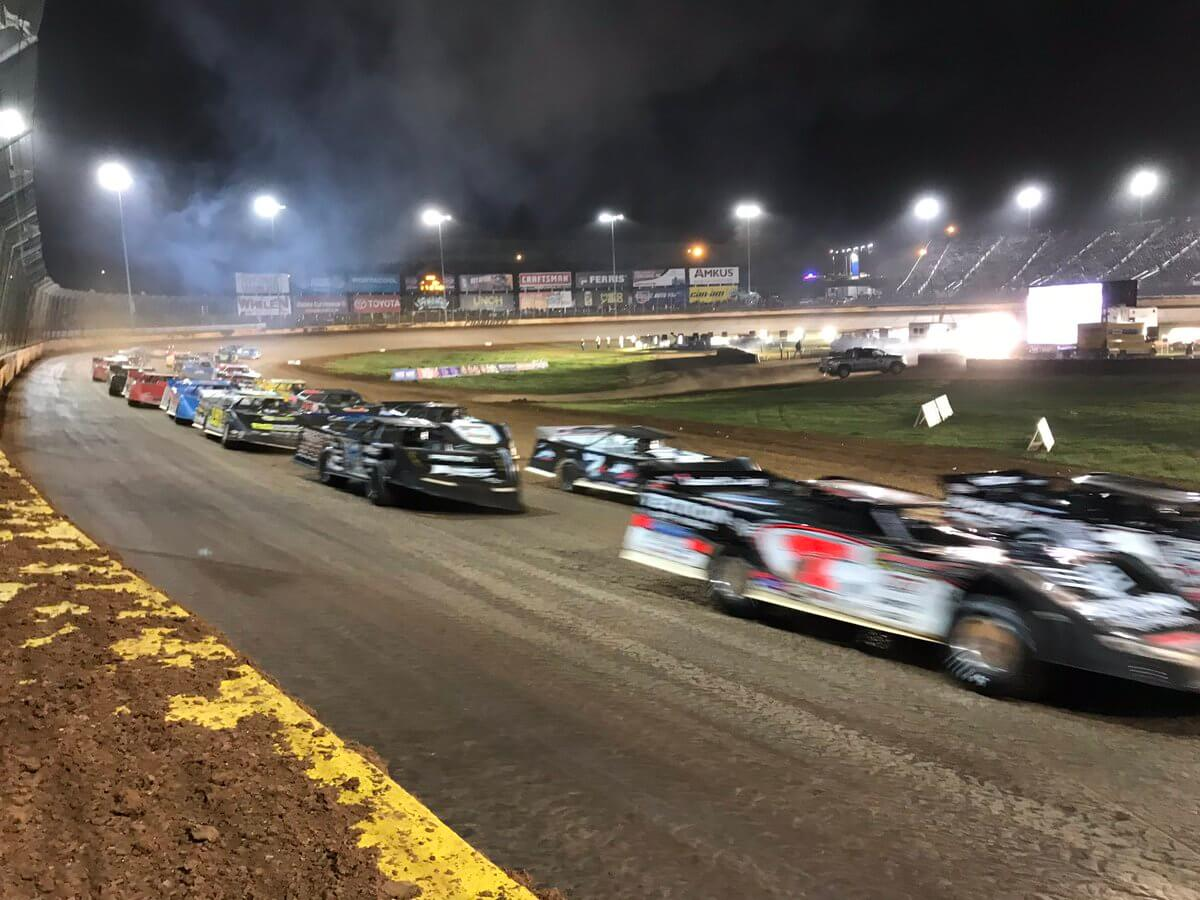 World of Outlaws Late Model Series on The Dirt Track at Charlotte