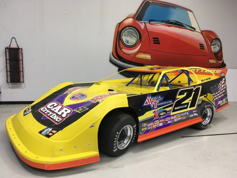 Billy Moyer - Australia Dirt Late Model
