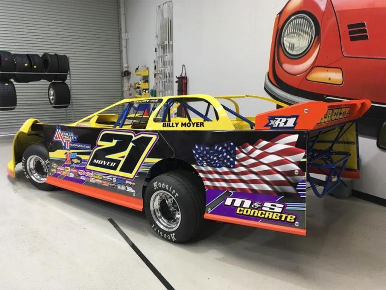Billy Moyer - Australia Dirt Racing