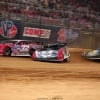Bobby Pierce, Shannon Babb and Chad Zobrist in the Gateway Dirt Nationals 4513
