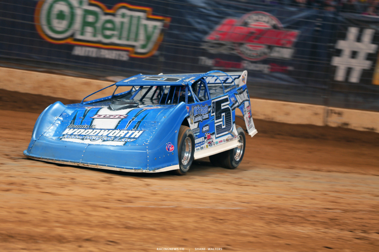 Brandon Sheppard in the Gateway Dirt Nationals - Dirt Late Models in St. Louis 4456