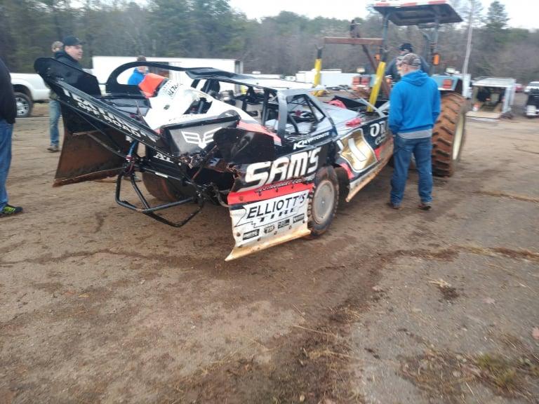 John Ownbey - 411 Motor Speedway Crash