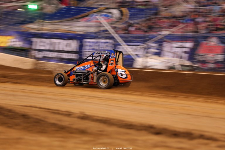 Kevin Thomas Jr at the Gateway Dirt Nationals 3653