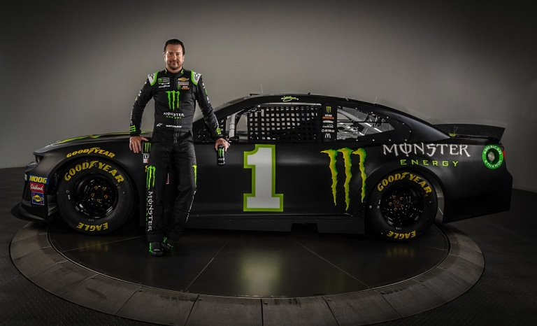 Kurt Busch 2019 paint scheme - Chip Ganassi Racing