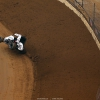 Kyle Larson nearly rolls his dirt midget in the Gateway Dirt Nationals 4950