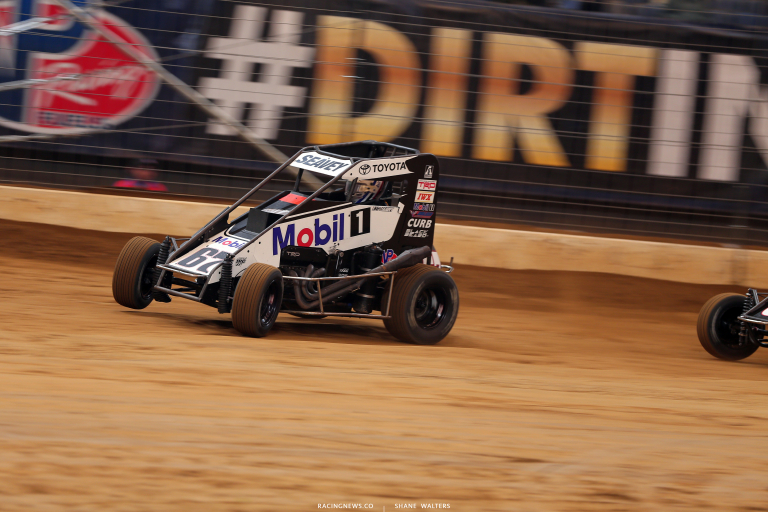 Logan Seavey in the Gateway Dirt Nationals 4211