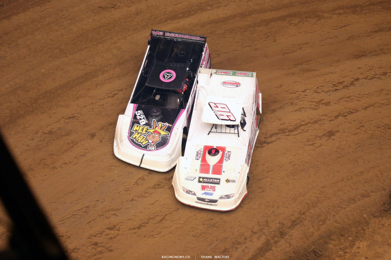 Manny Falcon and Tanner English in the Gateway Dirt Nationals 4828