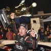 Noah Gragson in victory lane at the Snowball Derby
