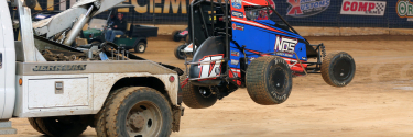 Ricky Stenhouse Jr talks the Gateway Dirt Nationals; Details his barrel roll
