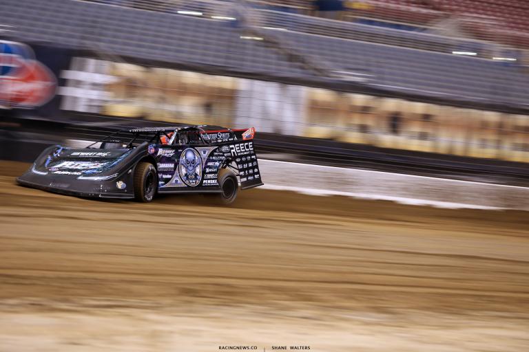 Scott Bloomquist in the Gateway Dirt Nationals 2649