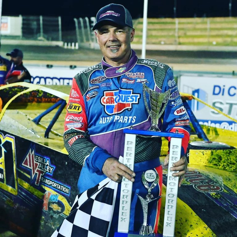 Billy Moyer wins at the Perth Motorplex