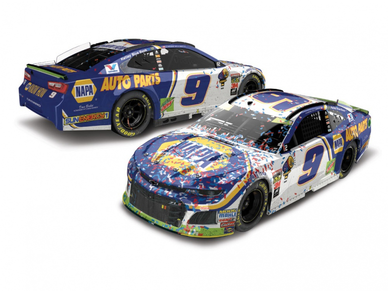 Chase Elliott - 2018 Dover International Speedway win die-cast