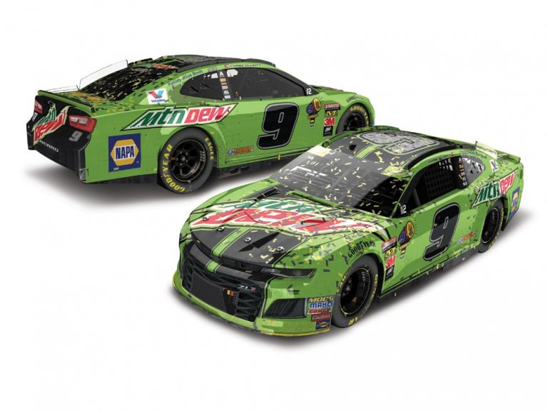 Chase Elliott - 2018 Kansas Speedway race win die-cast