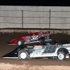 Chase Junghans, Scott Bloomquist and Bobby Pierce in the Wild West Shootout