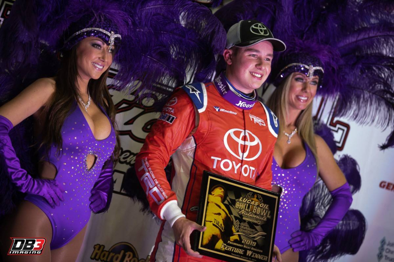 Christopher Bell wins in the Chili Bowl Nationals