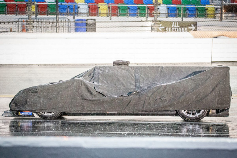 DPI under cover at Daytona
