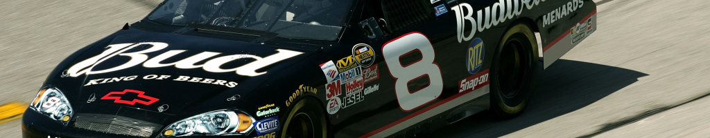 Dale Earnhardt Jr tells the other half of the number 8 story