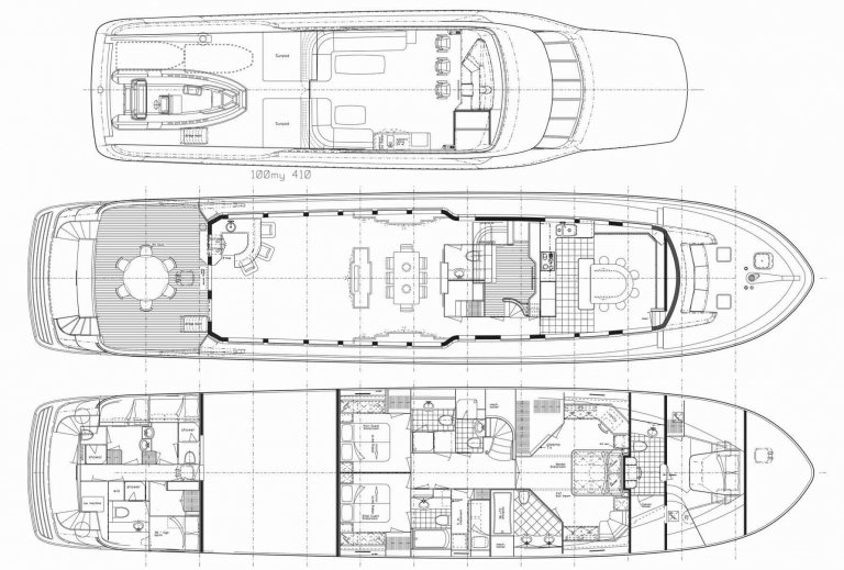 Dale Earnhardt yacht floorplan
