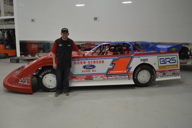 Devin Moran - Dunn Benson Motorsports wrap