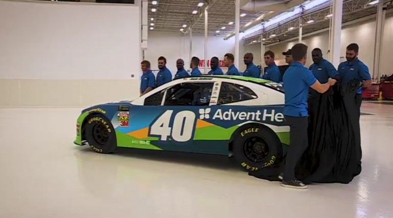 Jamie McMurray - 2019 paint scheme