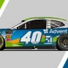 Jamie McMurray - AdventHealth paint scheme