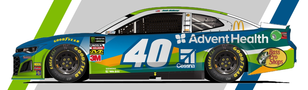 Jamie McMurray to run 2019 Clash at Daytona in AdventHealth paint scheme