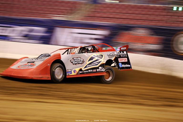 Joey Coulter in the Gateway Dirt Nationals