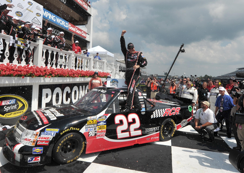 Joey Coulter wins at Pocono Raceway