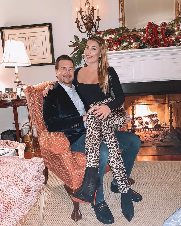 Kurt Busch and Ashley Busch