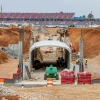 New Talladega Superspeedway tunnel