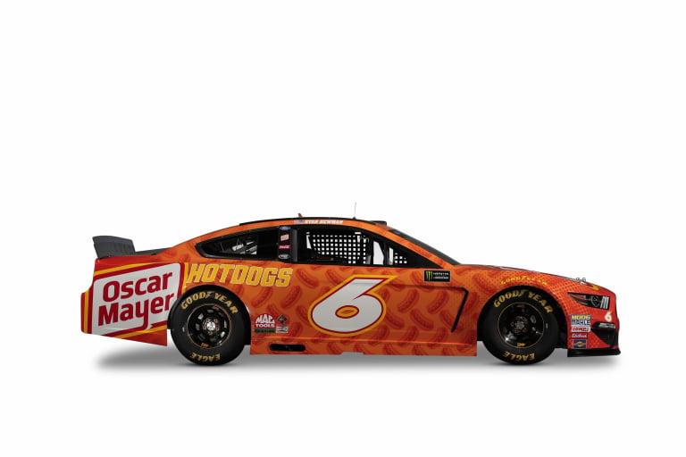 Ryan Newman - 2019 Oscar Mayer NASCAR race car