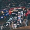Sammy Swindell, Tyler Thomas and Windom in the Chili Bowl Nationals