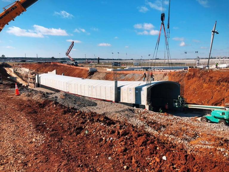 Talladega Superspeedway - Tunnel project