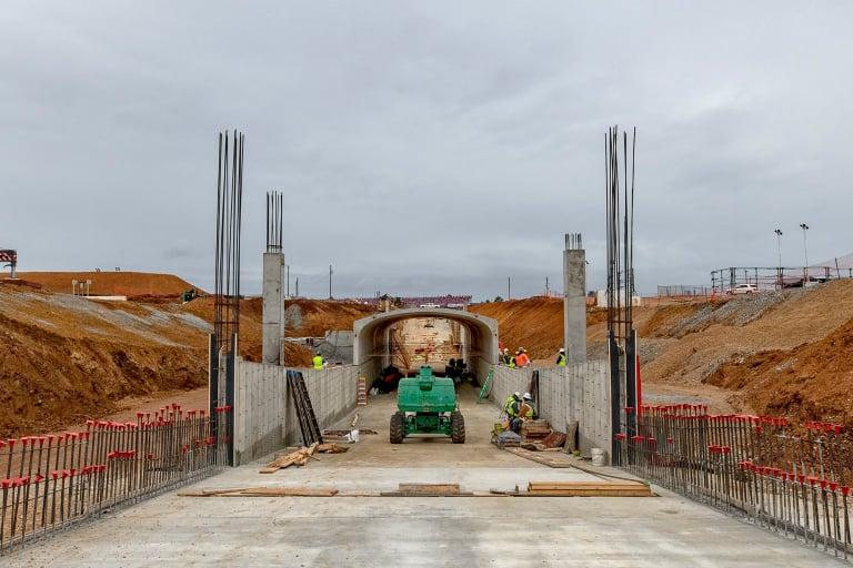 Talladega Superspeedway tunnel photo