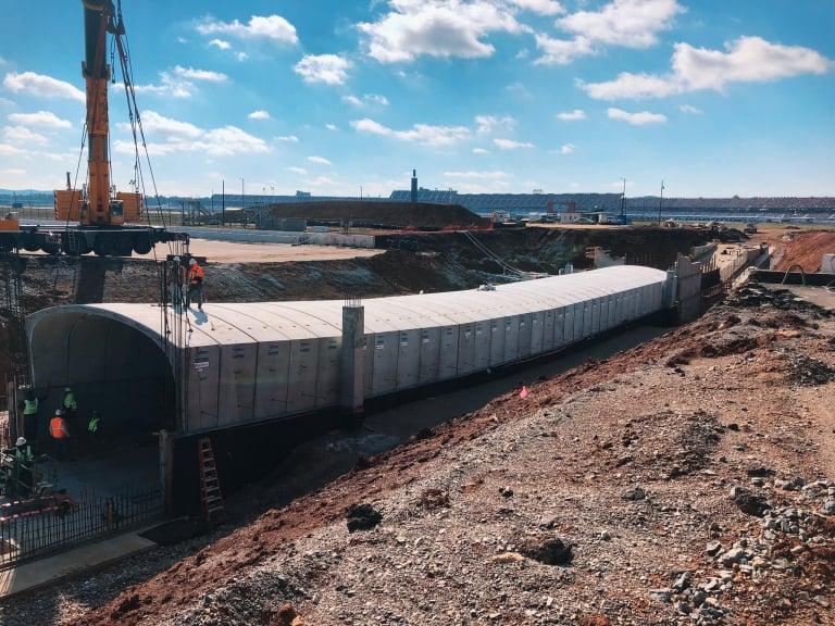 Talladega Superspeedway tunnel project