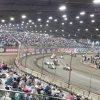 Tulsa Shootout Indoor dirt race