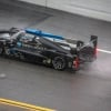 Wayne Taylor Racing in the rain of the Rolex 24 at Daytona