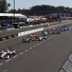 Will Power leads in the Grand prix of Portland - Verizon Indycar Series
