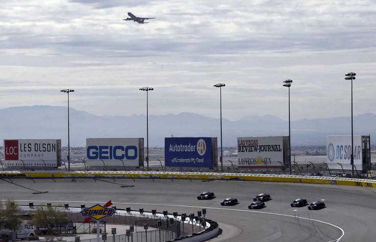 2019 NASCAR testing at Las Vegas Motor Speedway