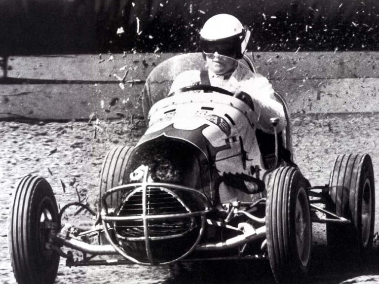 AJ Foyt - Dirt Racing in 1961