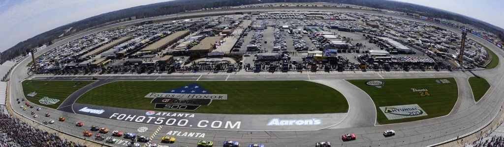 Car chiefs ejected at Atlanta Motor Speedway following inspection