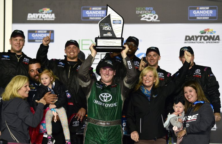 Austin Hill wins at Daytona - NASCAR Truck Series