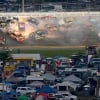 Big crash in the Daytona 500 at Daytona International Speedway - NASCAR Cup Series