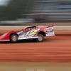Brandon Overton in the Rum Runner Racing dirt late model at Golden Isles Speedway 5788